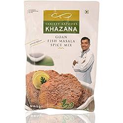 Sanjeev Kapoor's Khazana Spice Mix - Goan Fish Masala, 75g Pack