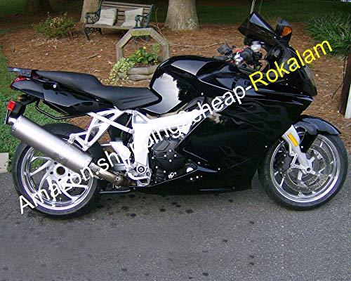 Kit de carrosserie noir flamme blanche pour 2005 2006 2007 2008 K1200S 05-08 K 1200S K1200 S Moto ABS pièces de rechange carénages