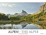 Alpen 2020 - The Alps - Bildkalender XXL (64 x 48) - Landschaftskalender - Naturkalender - Wandkalender - Österreich - Schweiz: by Rainer Mirau -