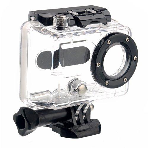Carcasa resistente al agua HD para cámara GoPro HD HERO y HD HERO2