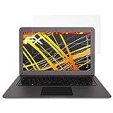 atFolix Schutzfolie kompatibel mit Trekstor SurfBook W2 Bildschirmschutzfolie, HD-Entspiegelung FX Folie (2X)