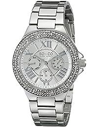 SO & CO New York Madison 5019.1 - Reloj de pulsera Cuarzo Mujer correa deAcero inoxidable Plateado