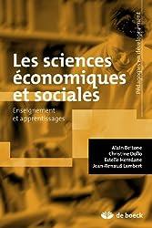 Sciences économiques et sociales: Enseignement et apprentissages
