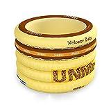 Folding Tub Piscina Gonfiabile per Neonati Isolamento Domestico per Neonati Indoor Oversize Round 1-3 Vasca da Bagno per Bambini con Pompa a Pedale (Colore : Letter)