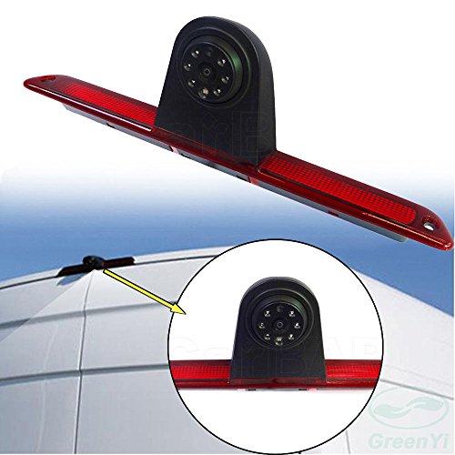 Dynavision Voiture Troisième monté sur Le Toit Haut caméra Lampe de Frein lumière de Frein Vue arrière Caméra de recul pour Sprinter Viano Vito Transit Ducato VW Crafter T5
