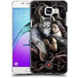 Official Anne Stokes Soul Bond Wolves 2 Hard Back Case for Samsung Galaxy A5 (2016)