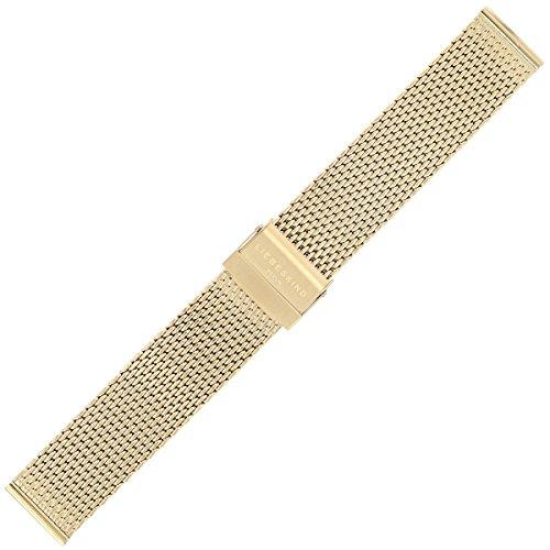 Liebeskind Uhrenarmband 18mm Edelstahl Gold - Uhrband B_LT-0060-MQ