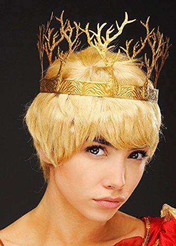 Kostüm Joffrey Thrones Of Game - Spiel der Throne Stil Waldland Krone Kopfschmuck