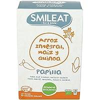 Smileat, Cereales para bebé (Arroz integral, maíz y quinoa) - 230 gr.