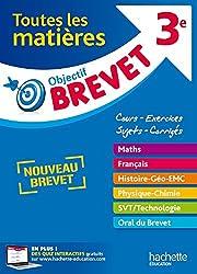 Objectif Brevet - Toutes les matières 3e - Nouveau programme 2016