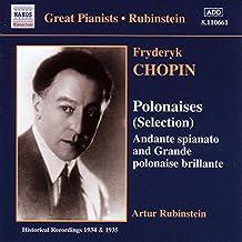 Chopin : Polonaises ; Andante spianato et grande polonaise brillante