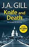 Knife and Death: A killer seeks revenge. A friend brutally murdered. A woman runs for her life. (DCI James Hardy Book 1)