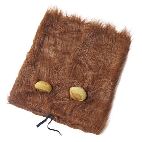 AIYUE Hund Löwe Mähne Pet Perücke Funny Hunde Perücke Haustier Schal Halloween verkleiden Löwen-Kostüm mit Ohren für Hunde und Katzen,Onesize