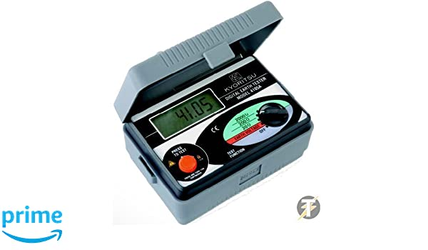 AC Soft Case 0-2000 Ohm and 0-200V Kewtech KEW4105A Earth Resistance Tester