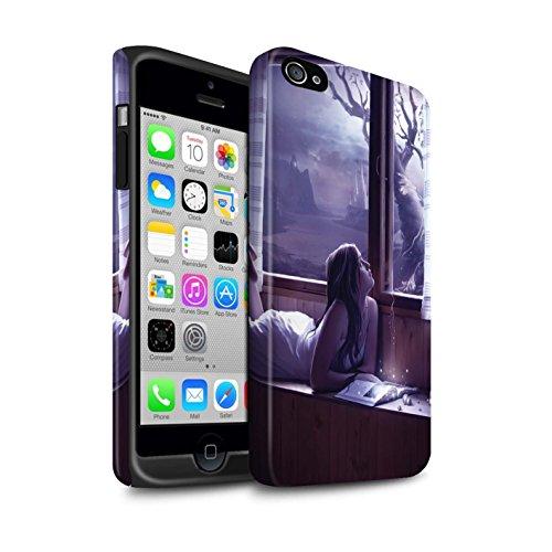 Officiel Elena Dudina Coque / Matte Robuste Antichoc Etui pour Apple iPhone 4/4S / Pack 7pcs Design / Art Amour Collection Distraits