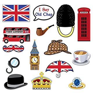 British Photo Fun Signs 15 Different Cutouts