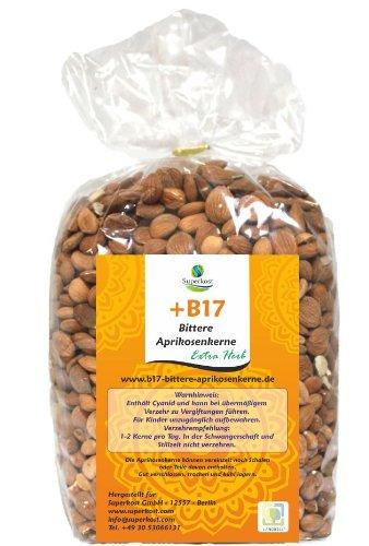 Bittere Aprikosenkerne Vitamin B17 Extra Herb (1kg)