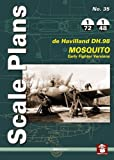 de Havilland Mosquito: Early Fighter Versions (Scale Plans)