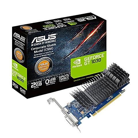 ASUS GeForce GT 1030 2GB GDDR5 HDMI DVI Graphics Card