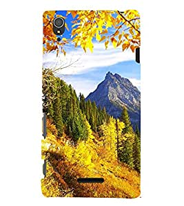 EPICCASE Autumn Mobile Back Case Cover For Sony Xperia T3 (Designer Case)