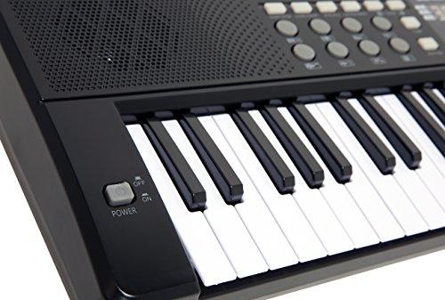 AXMAN T315853 Keyboard inkl. Mikrofon und Netzteilanschluß, 54 Tasten, batteriebetrieben 6 x AA (nicht im Lieferumfang enthalten) - 7