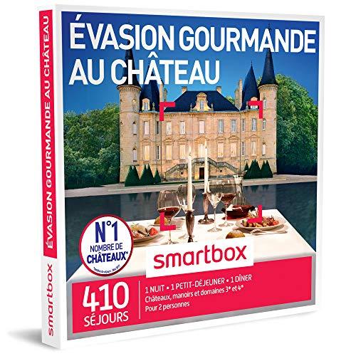 SMARTBOX - Coffret Cadeau homme femme couple - Évasion gourmande au château - idée...