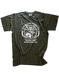 Viking Shirts - Niemand liebt den Krieger- bis der Feind vor deinen Kindern steht T-Shirt