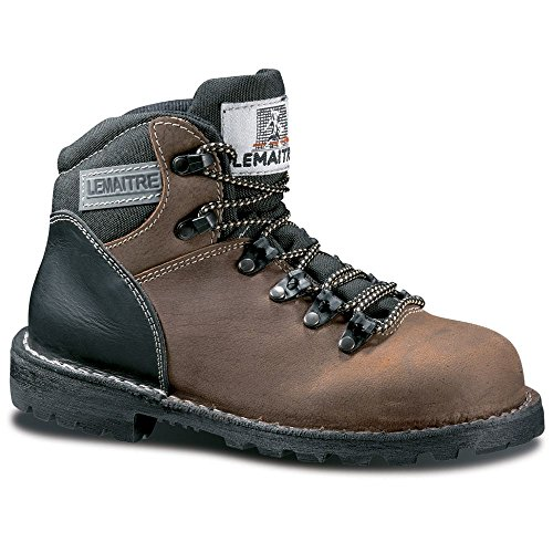 Chaussures De Sécurité Montantes Lemaitre Sahara S3 Ci Hro Marron / Noir