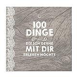 Paargeschenk 100 Dinge Buch Geschenk Hochzeitstag Geburtstag Jahrestag Valentinstag Ausfüllbuch Paare Buch zum Ausfüllen Hardcover 100 Seiten Vintage & Spitze