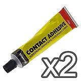 Lot de 2New 70g Edwards Contact colle–Adhère instantanément–Résistant à l'eau–Ultra résistant