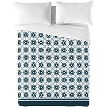 BCN Brand Geometría - Juego de fundas nórdica para cama de 90 cm