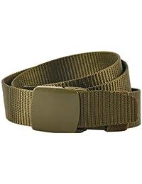 KEYNAT Cinturón Táctico Militar Ajustable Cintura Hombres Lona Nylon Hebilla  Plástica 19b25f21323d