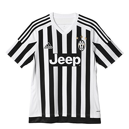 Adidas - Maglia Junior Casa M/C Bianco Nero 15/16 Juventus 176 Cm
