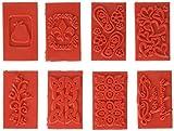Life Of The Party stampo rettangolare per goffratura sapone, assortimento da 8 pezzi