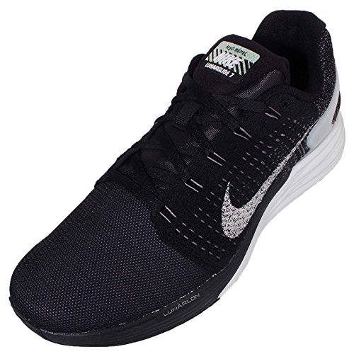 LUNARGLIDE flash Sz Mens Running Shoes Black/Pure Platinum/Dark Grey/Reflect Silver