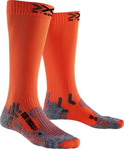 X-Socks Herren Strumpf RUN ENERGIZER, Orange Sunshine, 42/44, X020327 Run Energizer