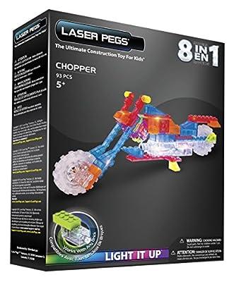 Laser Pegs–Set Construction with Illuminated blocks (SAICA zd3100b)