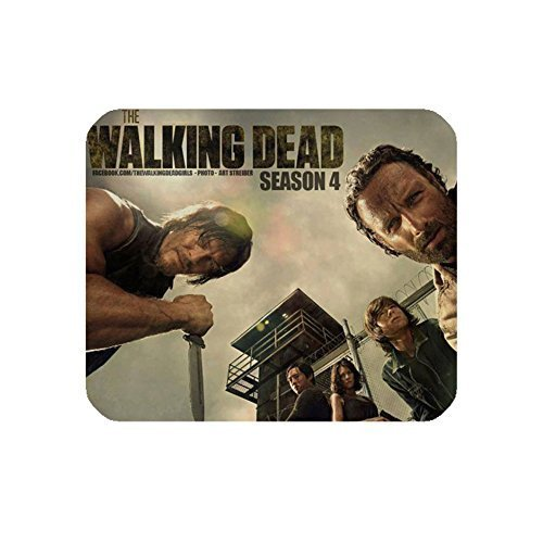 Preisvergleich Produktbild Custom Walking Dead Season 4 Mouse Pad Non-slip Rubber Rectangle Gaming Mousepad with High Quality Mouse Mat