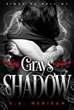 Gray's Shadow (gay biker paranormal romance) (Kings of Hell MC Book 4) (English Edition)