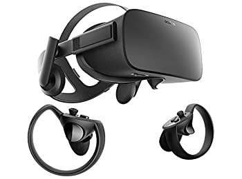 Oculus Rift + Touch Virtual Reality System + Oculus Rift Earphones Bundle by Oculus