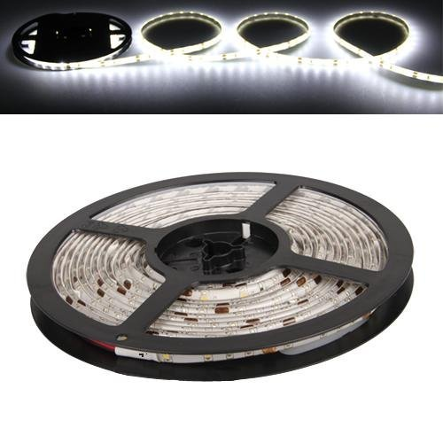TOOGOO (R) Tira 300 3528 SMD LED Impermeable Blanco Fro Bajo Calor Lmpara Lm Luz