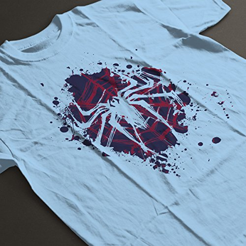The Spider Spiderman Blue Version Women's T-Shirt Sky Blue