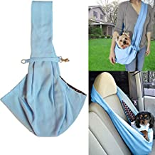 Hangang Pet Sling Carrier Bag Hands-free Reversible Small Travel Tote Soft Comfortable Puppy Pouch Tote Bolso para perro gato Rabbit