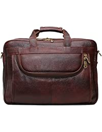 Alpa Pure Leather Laptop 15.6'' Laptop Cross Body Shoulder Bag Compartment & Inner Pockets For Men & Women