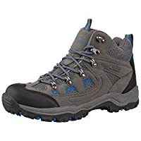 Mountain Warehouse Adventurer Mens Boots - Waterproof Rain Boots, Synthetic & Textile Walking Shoes, Added Grip Mens All Season Shoes - Footwear for Hiking & Trekking