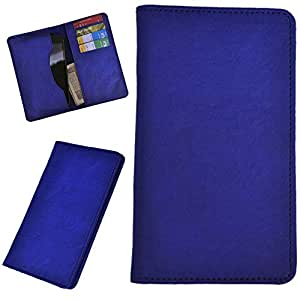 DCR Pu Leather case cover for Sony Xperia M4 (blue)