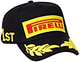 Pirelli Herren Podium Cap, Black, One Size