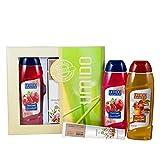UMIDO Beautyset Duschgel 250 ml Granatapfel, Hand-Lotion 45 ml Mandelöl & Duschgel 250 ml...