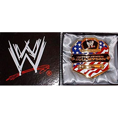 WWE UNITED STATES Championship BELT BUCKLE by Main Street 24/7