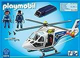 PLAYMOBIL 6874 - Polizei-Helikopter mit LED-Suchscheinwerfer -